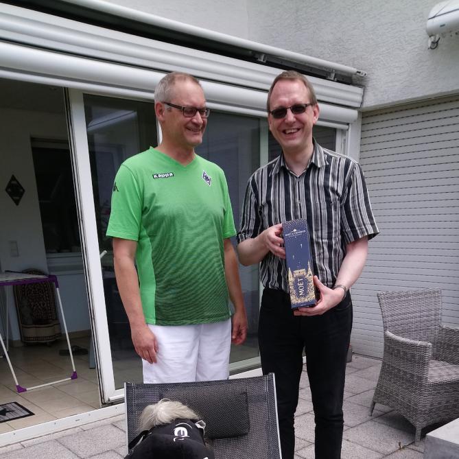 Mit Jürgen und Jünter: Mönchengladbach in Bergisch Gladbach